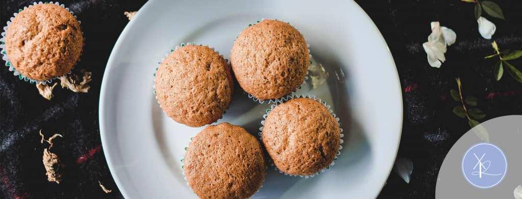 Muffins de Nuez con Almendra